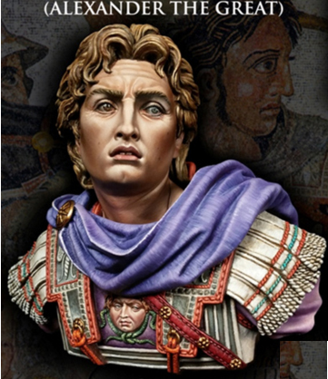 Scale Models 1/ 10 Alexander The Great The Macedonian Empire  Bust  Figure Historical  Resin Model