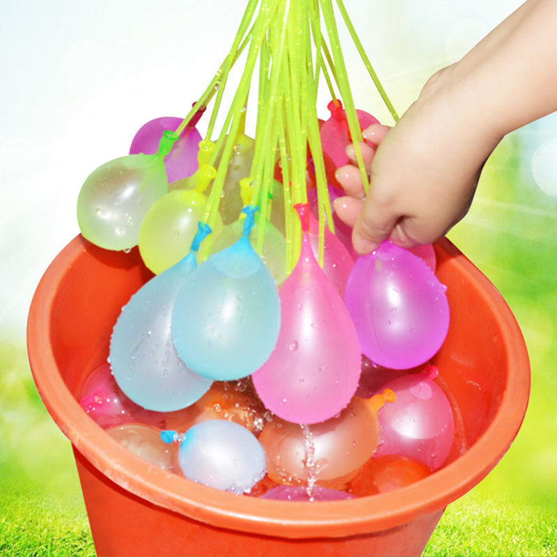 111pcs Fast Water Balloon Bunch Childrens Toys Magic Water Balloon Bombs Ball Bundle Summer Family Bachelor Party Supplies ...