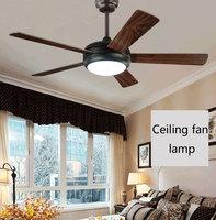 Modern Led Ceiling Fan 220Volt 5 Blades Ceiling Fans Lamps With Lights For Living Room home lighting