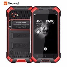 Blackview BV6000 Smartphone 4G LTE Waterproof IP68 4.7″ HD MT6755 Octa Core Android 7.0 Mobile Cell Phone 3GB RAM 32GB ROM 13MP