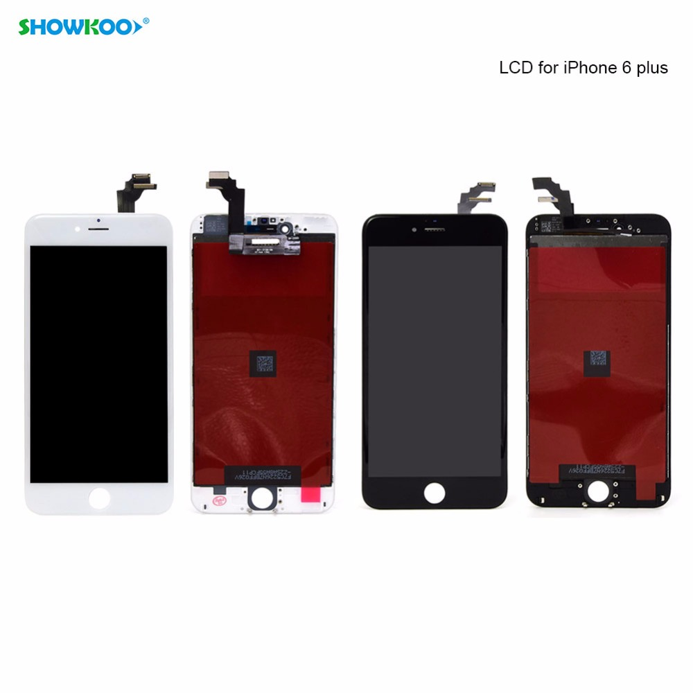 SHOWKOO Original Quality Replacement Screen for iPhone 6S Plus 5.5 Panel Touch LCD Screen Assembly Digitizer Phone Accessories