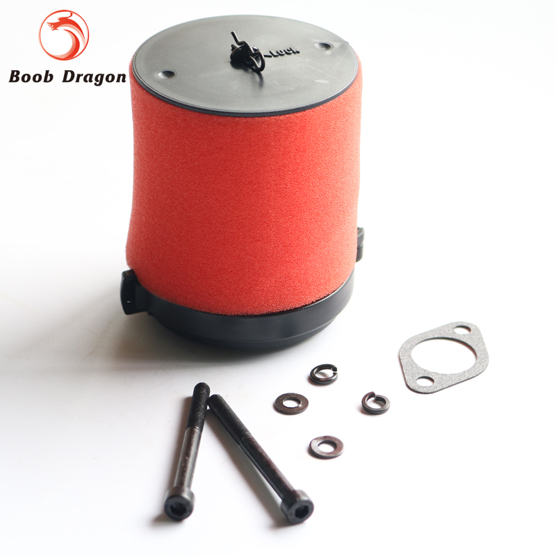BAJA air filter kit set fit 26cc 29cc 30.5cc engine parts  for baja 5b 5t 5sc rc cars 2017 air filter combo set kit fit for 499486 499486s includes 273638 pre filter mayitr lawn mover parts