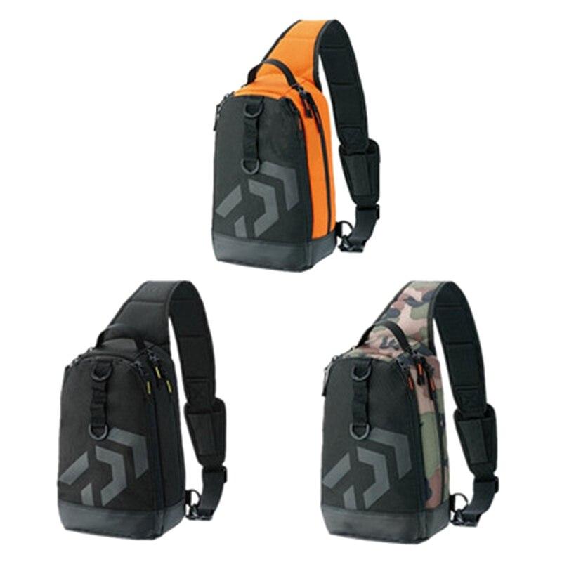 32 cm homme multi-fonction sacs de pêche poisson bobine sac en plein air paquet de stockage loisirs haute capacité sport pêche leurre sac