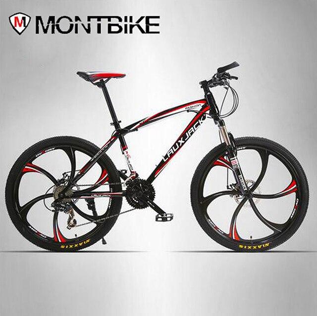 Lauxjack Mountain Bike Steel Itself 24 Speed Shimano Mechanical