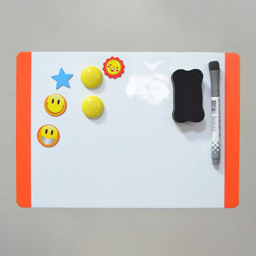 Board A4 Soft  WhiteBoard Drawing Recording Board For Fridge Refrigerator R20