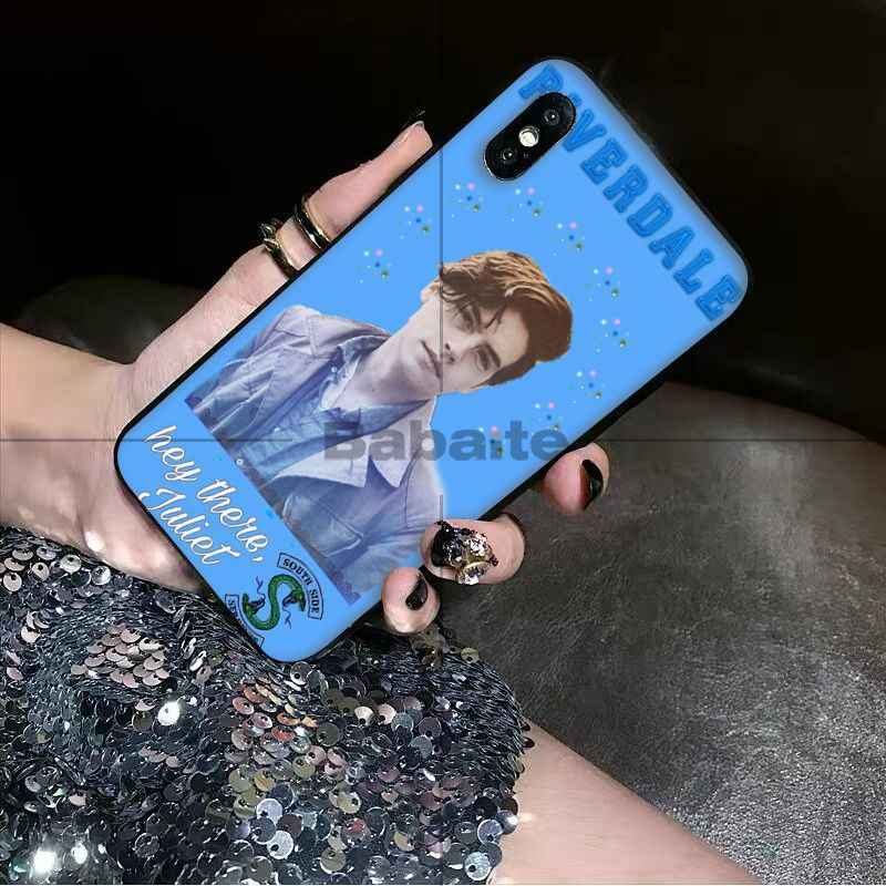 Babaite American TV Riverdale Jughead Jones Soft Phone Cell Phone Case for iPhone 8 7 6 6S Plus X XS MAX 5 5S SE XR Mobile Cover
