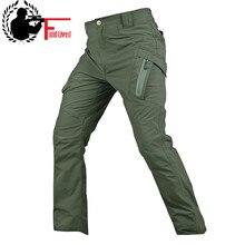 Летние IX9 тактические карго штаны Для мужчин быстросохнущие легкие брюки в стиле милитари Стиль мульти-карманы SWAT армейские тонкие брюки мужские цвета хаки