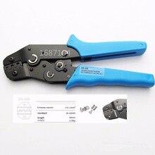 SN-48B Мини Европейский Стиль обжимной инструмент обжимные плоскогубцы 0,5-мм2 многофункциональный инструмент ручной синий