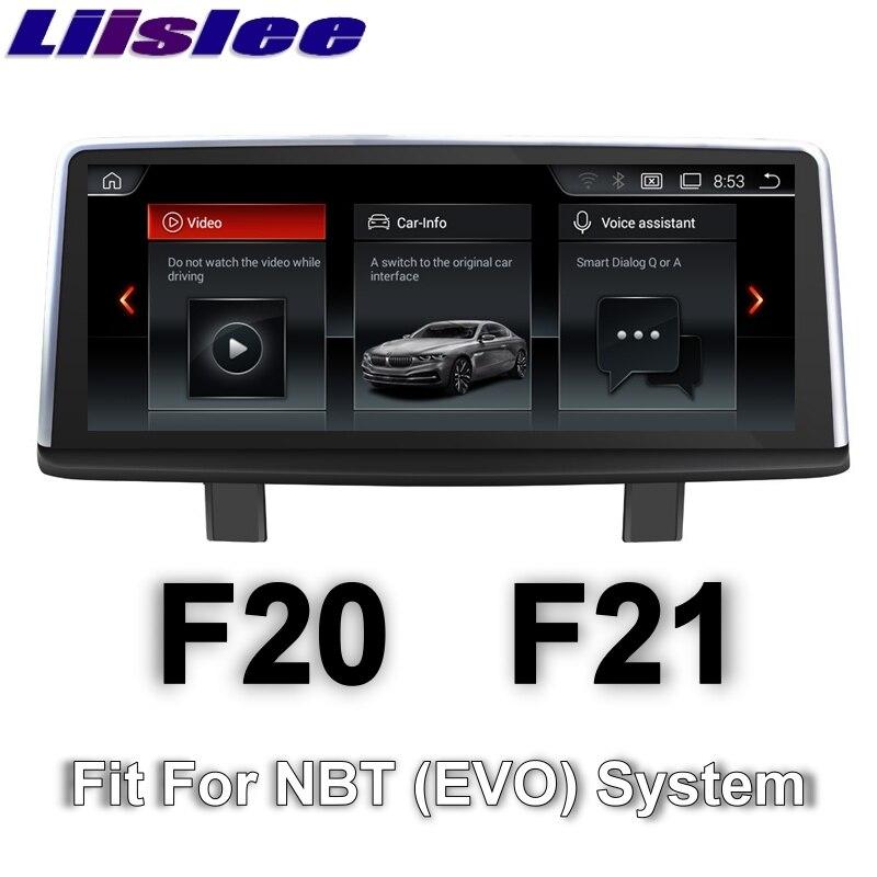 Pour BMW 1 série M1 F20 F21 2011 ~ 2016 LiisLee voiture multimédia GPS Audio Hi-Fi Radio stéréo Style Original pour NBT Navigation NAVI