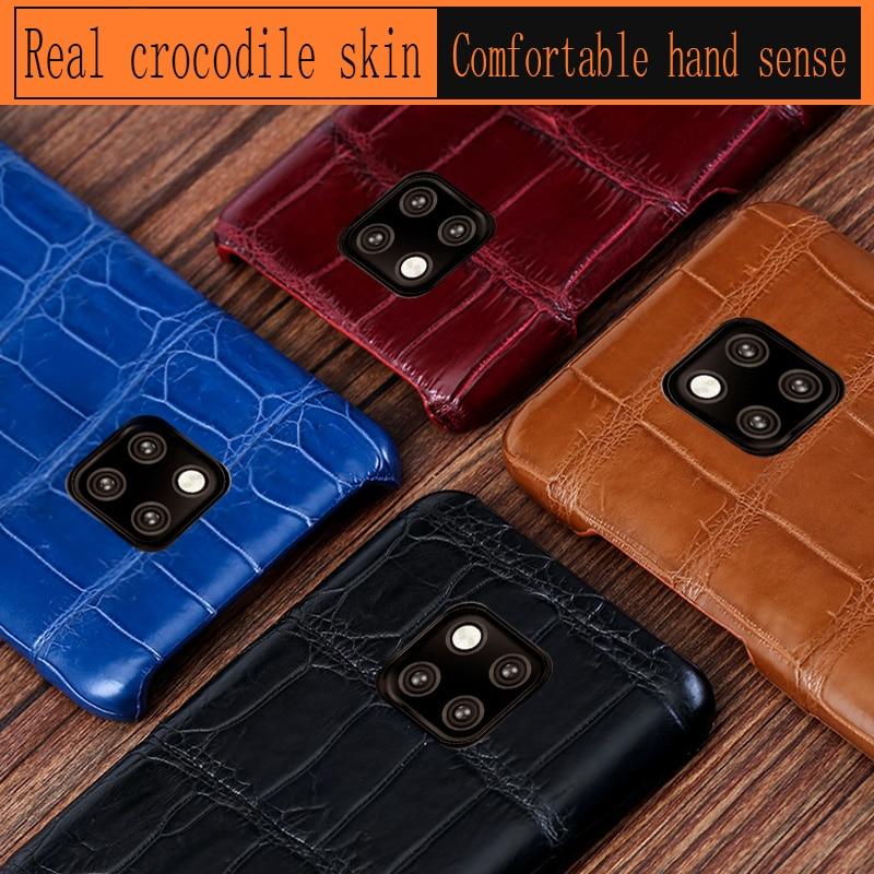 Страусиная кожа чехол для телефона для huawei P10 P20 mate 20 10 9 Pro Lite Чехол Мягкий ТПУ Край чехол для Honor 8X Max 9 10 Nova 3 3i lite - 4