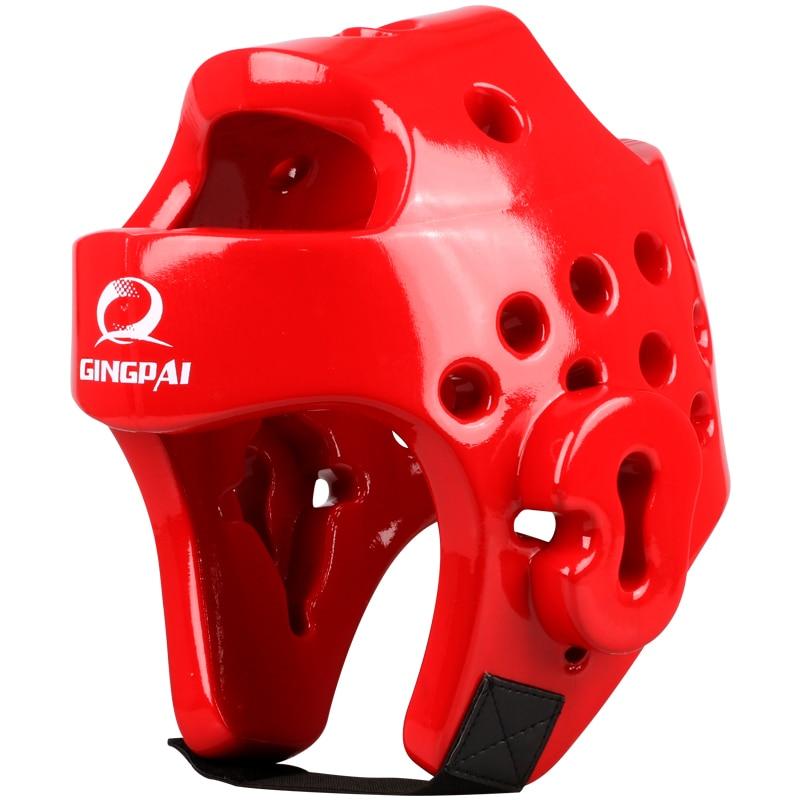 Оптовая продажа красный цвет для взрослых мужчин и женщин борьба каратэ тхэквондо голову протектор лицо гвардии ММА тайский бокс ТКД шлем г...