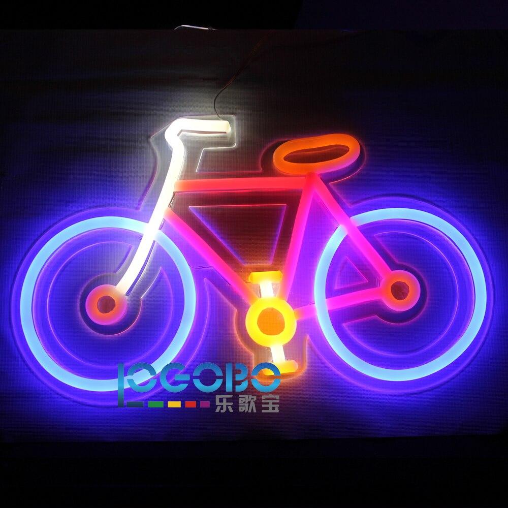 Առաջնորդված Neon Sign հեծանիվ ձեռքի - Կոմերցիոն լուսավորություն - Լուսանկար 6
