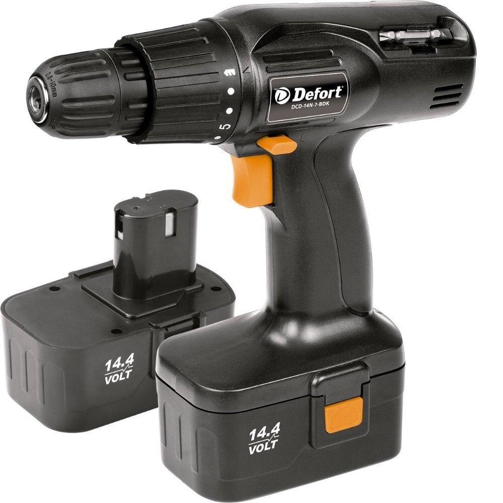 Cordless drill Defort DCD-14N-7-BDK  цена и фото