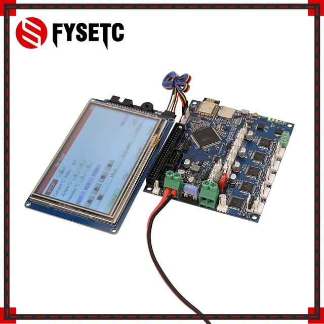 "Duet 2 Wifi V1.04 โคลน DuetWifi ขั้นสูง 32 Bit Electronics 4.3 ""5"" 7 ""PanelDue หน้าจอสัมผัสคอนโทรลเลอร์สำหรับ BLV MGN Cube"