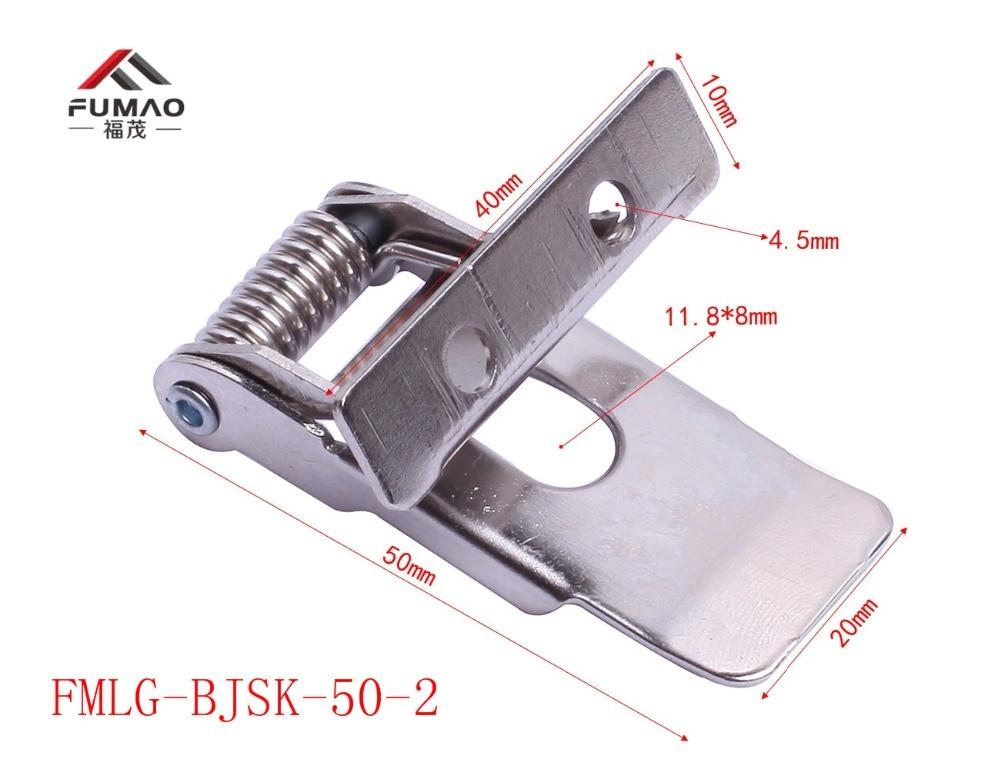 Купить с кэшбэком Manufacturer 55mm led recessed spring panel clip