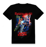 T Shirts Iron Maiden Brand 3d Style 2016 Heavy Metal Streetwear Men S Tshirt Cotton Casual