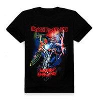 T Shirts Iron Maiden Brand 3d Style 2016 Heavy Metal Streetwear Men S Tshirt Cotton Casual