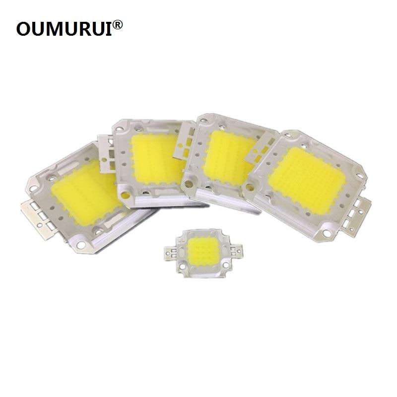 10W/20W/30W/50W/100W LED COB CHIP Lights High Power Lamp Warm White/White Genesis 30MIL Chips 1PCS