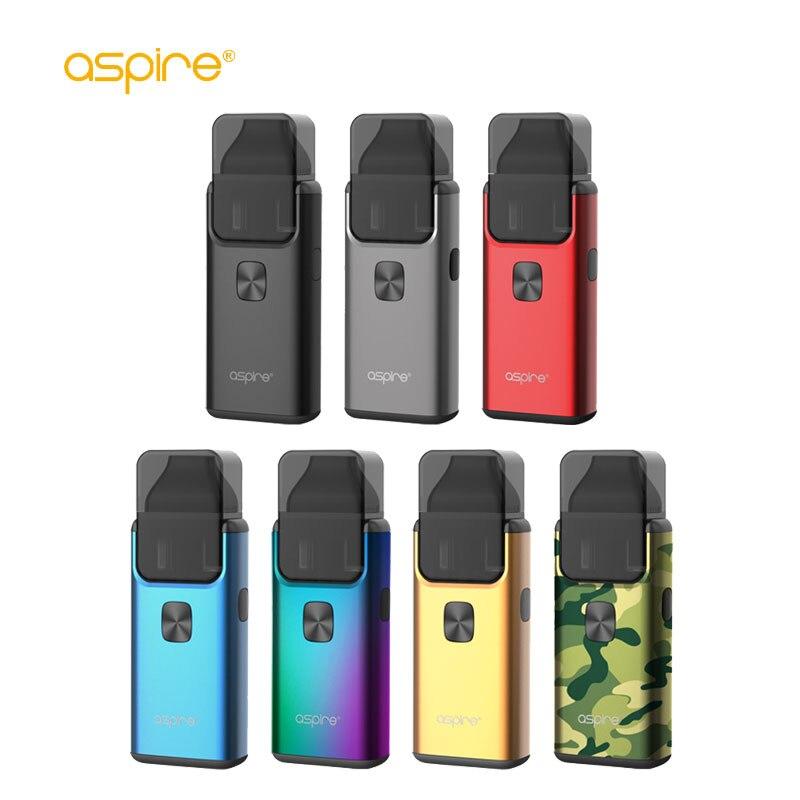 Aspire Original E-Cigarette brise 2 AIO Vape Kit 1000 mAh batterie intégrée 3 ml/2 ml réservoir atomiseur Vaporizador VS ijust s