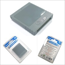Adaptador de cartão de memória flash sd, adaptador conversor para leitor de cartão de memória para nintendo wii ng gc gameqube acessórios de jogos