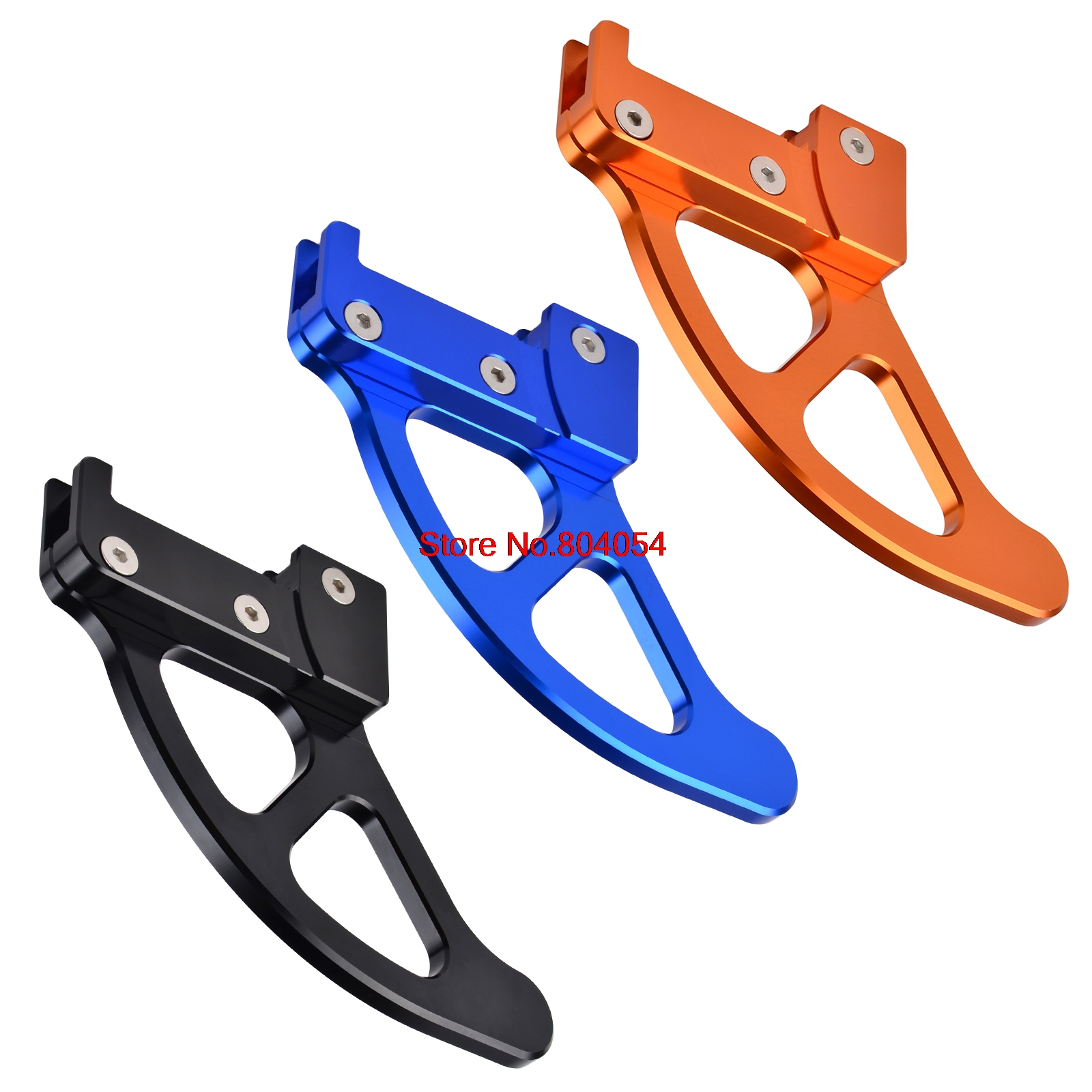 Rear Brake Disc Guard Protector For KTM 85 125 200 250 300 350 400 450 500 525 530 SX XC SXF XCW EXC EXC-F SXS XCF-W MXC SMR billet axle blocks chain adjuster for ktm 125 150 200 250 300 350 400 450 500 505 525 530 exc exc f xc w xcw xcf w 2000 2015