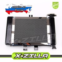 Motorcycle Big Radiators Cooling System For 200cc 250cc Water Cooled Water Cooling ATV Dirt Bike Go