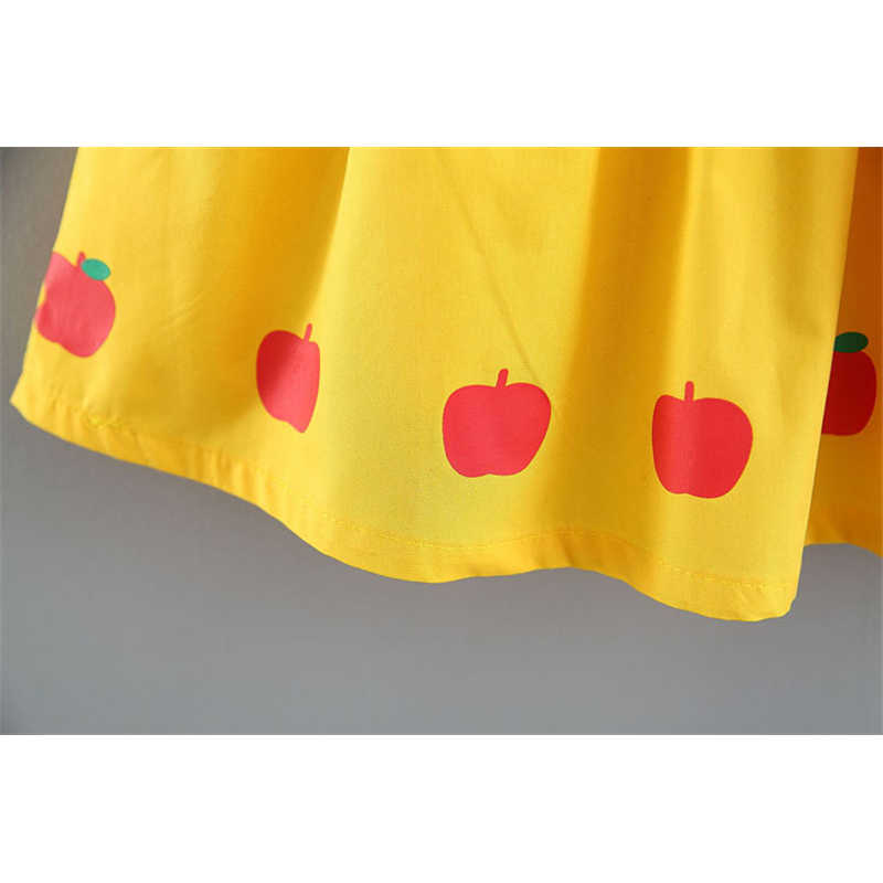 Новые платья для маленьких девочек 2, 3, 4 лет, платья для маленьких девочек 2019 года, летнее платье принцессы для маленьких девочек, vestidos, милое платье для девочек с фруктами