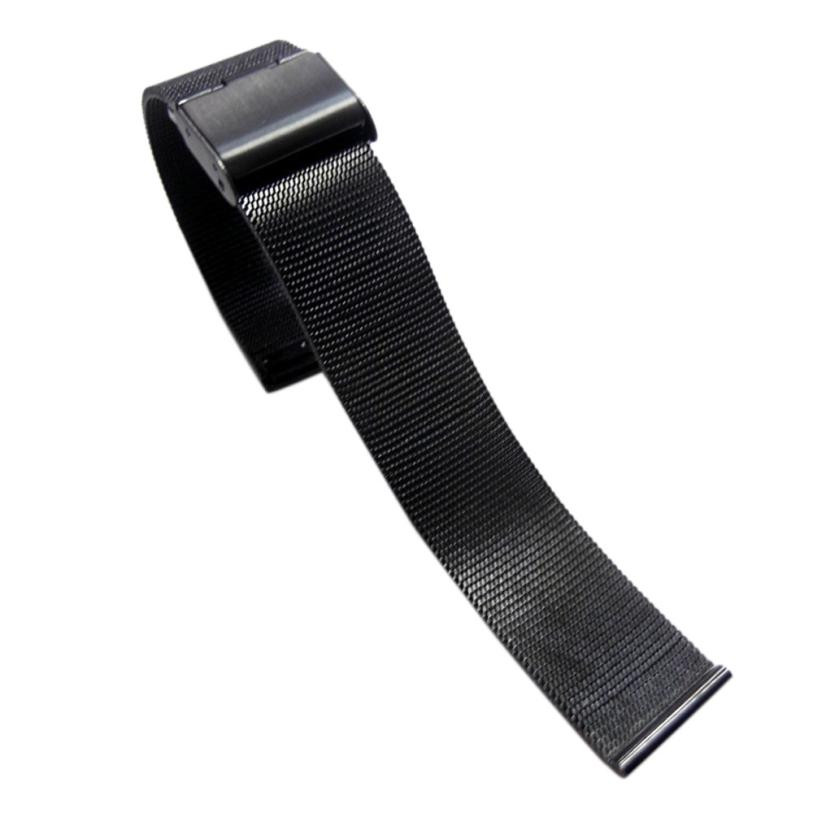 цена на Timezone#301 Fashion Milanese Stainless Steel Wrist Watch Band Strap 18mm Free Shipping