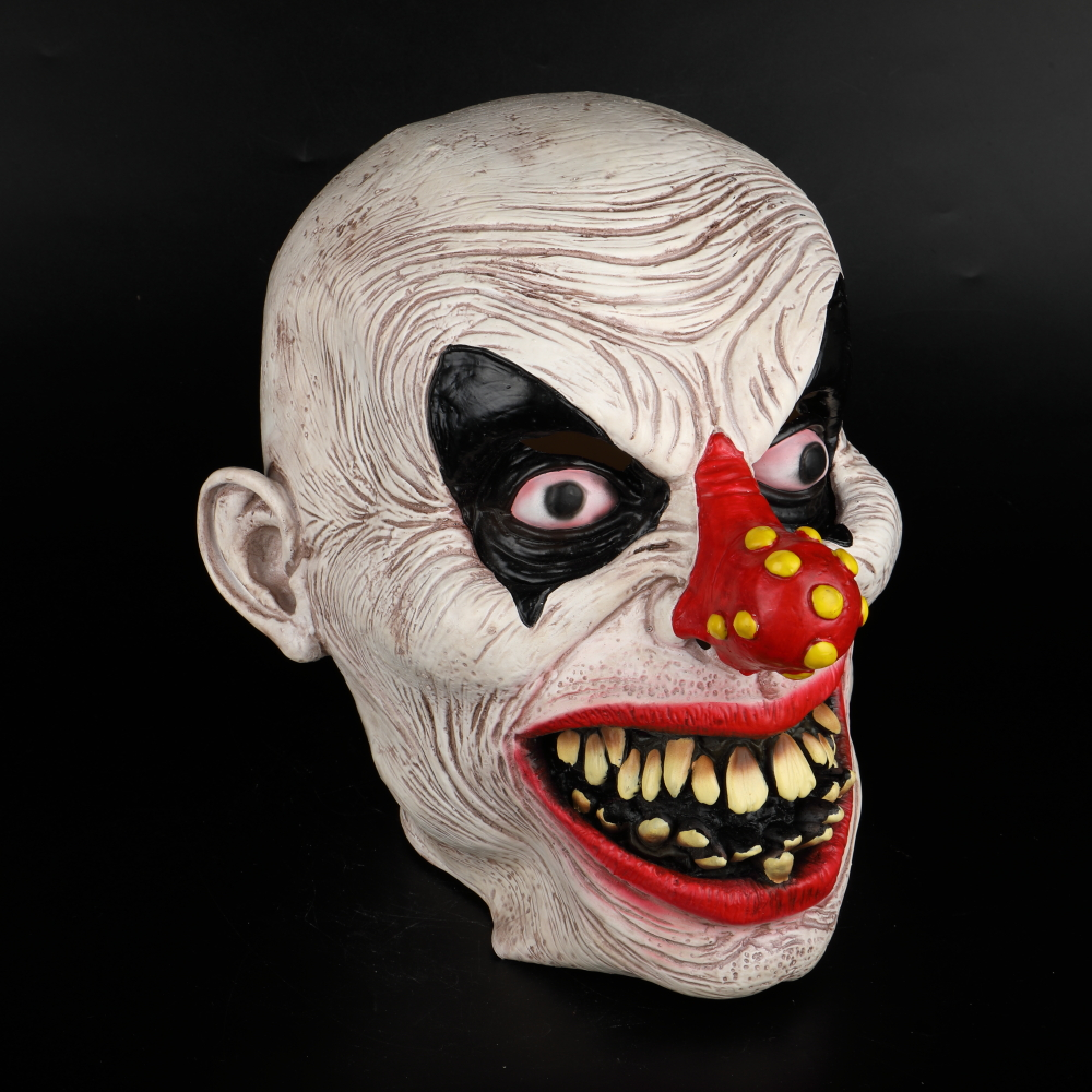 Latex Mask Carnival Costume Accessory Joker Novelty Halloween Party Head Mask  Fancy Dress Party Cosplay Mask (14)