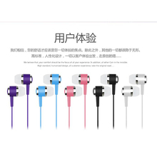 Stereo Bass Earphones Headphones jack wired control HiFi Earbuds Headset for OPPO Vivo PRE