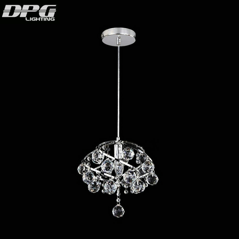 Modern Small Led Crystal Pendant Hanging Kitchen Lights