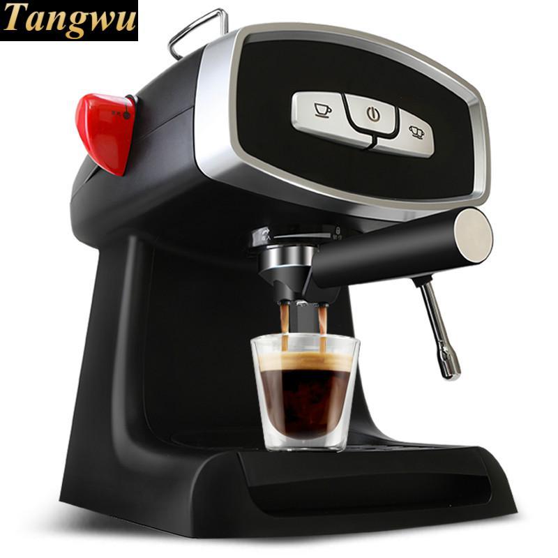 espresso machine is a semi-automatic steam - type blister