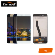 Replacemnt Screen for Huawei P10 VTR-L09 VTR-L10 VTR-L29 LCD Display with Touch Digitizer Assembly White Black