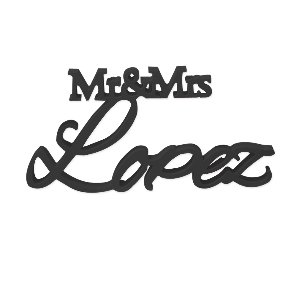 wedding decoration Personalized Wedding Sign Family Mr & Mrs Last Name Personalized Wedding Sign christmas decorations for home