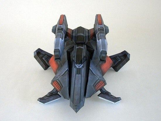 3D Paper Model Star Game Terran War Chariot Model DIY Assembled Handmade Toy