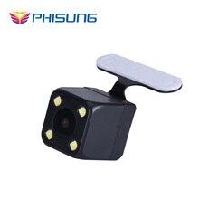 Цифровой сигнал Заднего камера с 6 м кабеля комплекты специально для Phisung Android GPS двойной объектив Зеркало камеры автомобиля