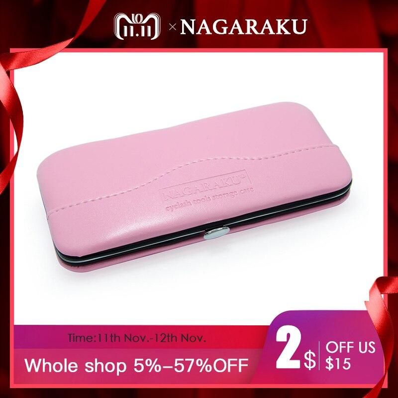 NAGARAKU New professional storage for eyelash extension tweezers eyelash extension bag and case tools for tweezers все цены