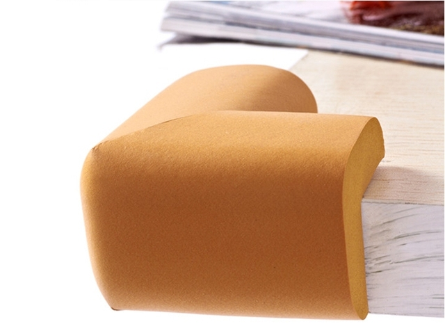 8pcs of Soft and Thickened NBR Foam Corner Protector Cushions