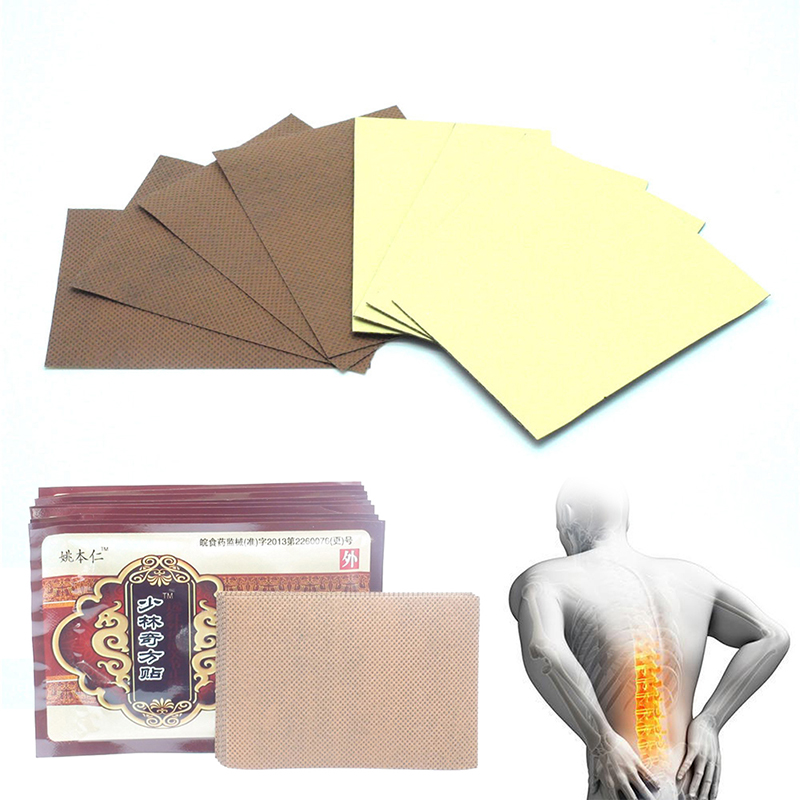 JETTING Hot Sale 8Pcs Chinese Shaolin Medical Patches Health Care Pain Relieving Plasters Arthritis Back Pain Relieve