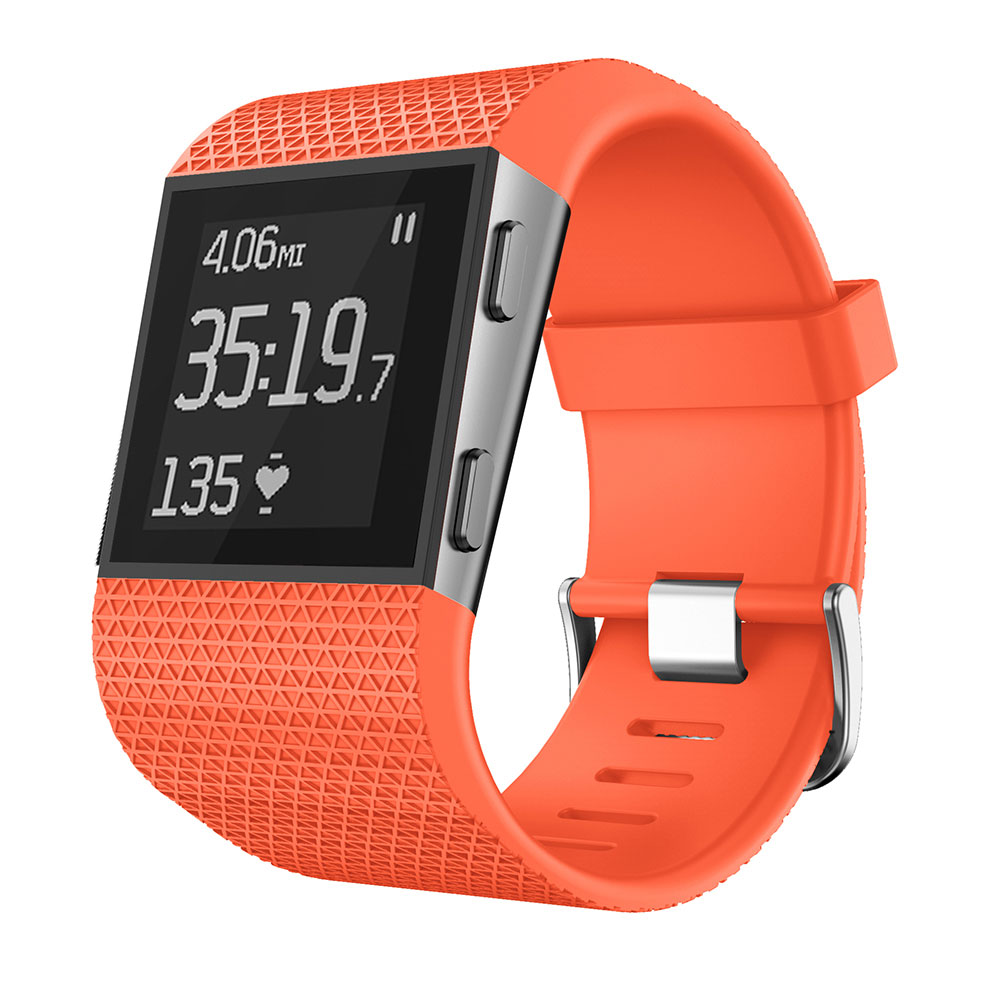 Silicone Replacement Watch Wrist Strap Band For Fitbit Surge Watch Band Bracelet Smart Wrist Bands With Screwdriver Accessory