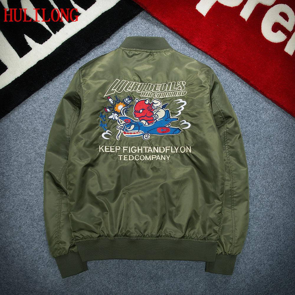 Ma1 Bomber Jacket Men New Bomber Jacket Kanye West For Pilot Flight Jacket Bombers Men Baseball Coats Military