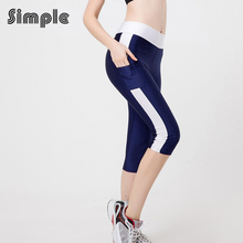 High quality 2016 running tights for women elastic with pocket fitness font b training b font