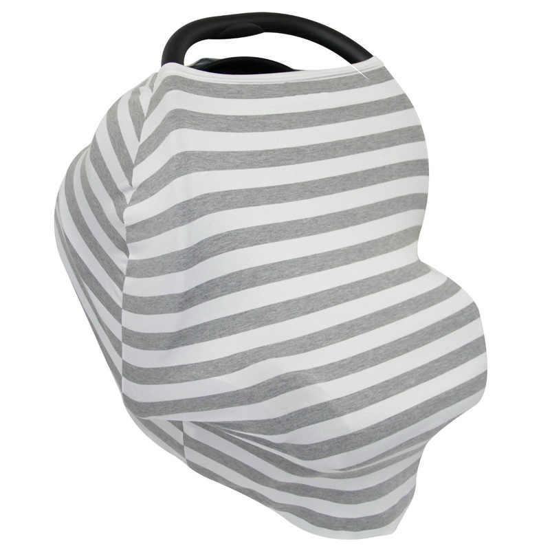 Multi - functional ยืดหยุ่นกลางแจ้ง Mother Feeding Maternity Breast พยาบาลผ้าคลุมไหล่ผ้าพันคอรถเข็นเด็กทารกบังแดด