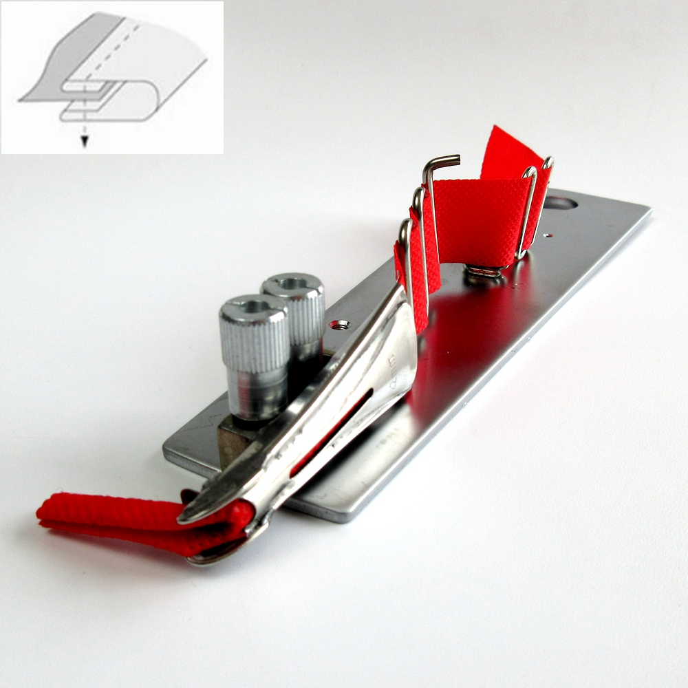 Dubbele Vouw Bindmiddel + Beugel Voor Seiko LSC 8BV Cilinder Bed Wandelen Voet Binding-in Naai Hulpmiddelen & Accessoires van Huis & Tuin op  Groep 1