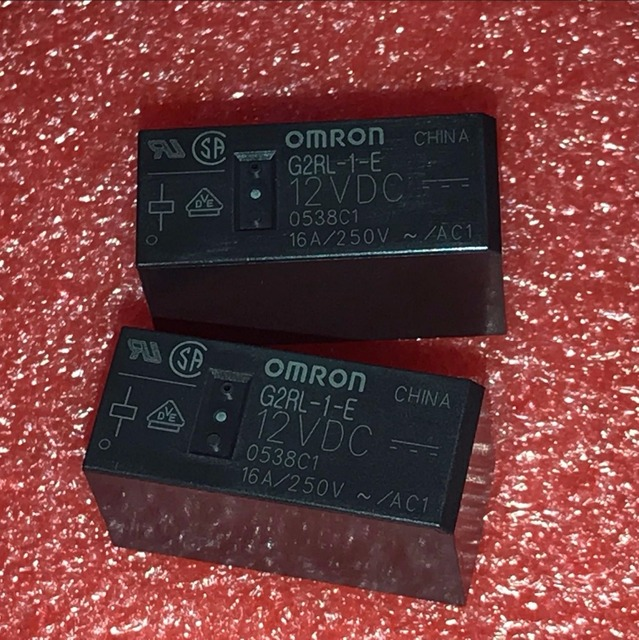 จัดส่งฟรีต้นฉบับ Omron รีเลย์ 10 ชิ้น/ล็อต G2RL 1 E 12VDC G2RL 1 E DC12V G2RL 1 E 12V G2RL 1 E 12VDC