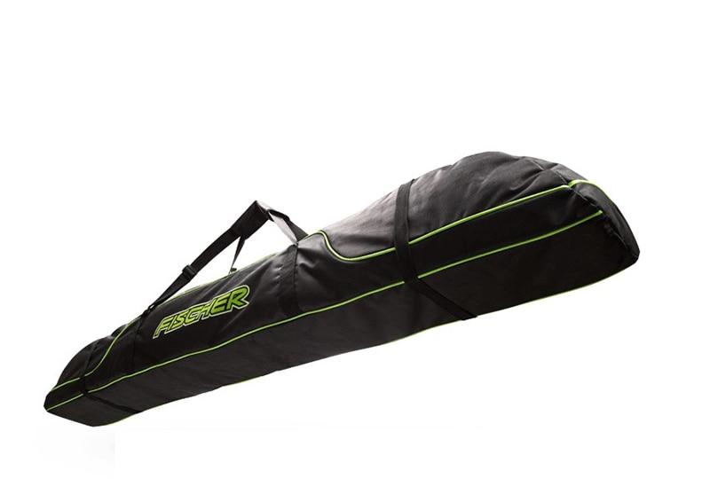 Pack de bâtons de Ski bottes de neige casque Portable porter épaule sac à main pour Double Snowboard imperméable Oxford housse 165 cm 175 cm - 4