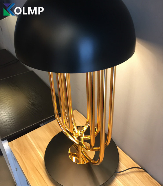 Delight Full Turner Italy Design Desk Table Lamp For Bedroom Living Room  Fashion Home Decoration Gold