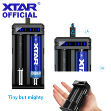 2019 Newest CHARGER LCD XTAR VC2 SC2 VC2S MC2 PLUS USB Battery Charger For 20700 21700 18700 22650 25500 26650 18650 Battery