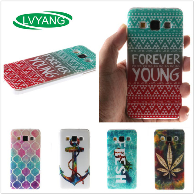 For Samsung A5 2015 SM-A5000 A5000 A5009 A500 Case Ultra Thin Soft Silicone TPU Case Mobile Phone Protective Back Cover Case
