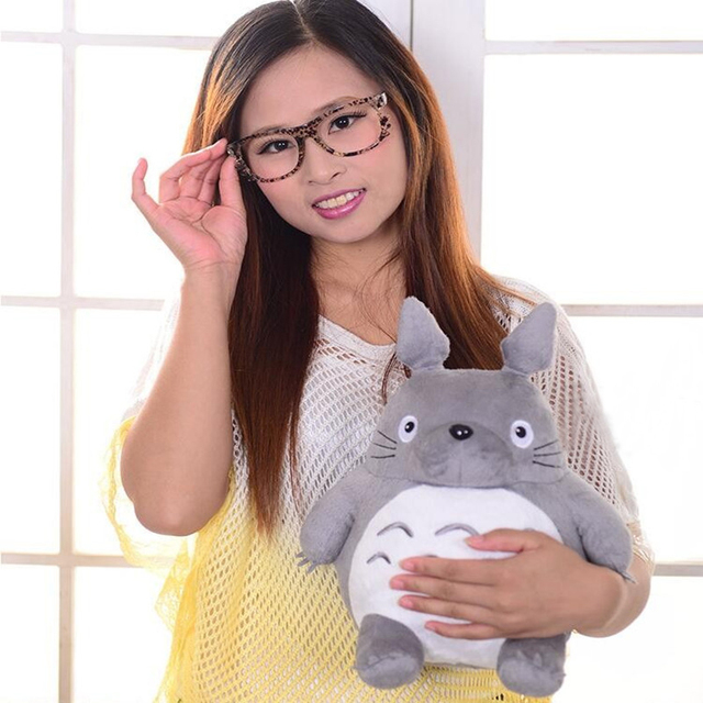 CXZYKING 20/30CM Cartoon Stuffed My Neighbor Totoro Plush Toys Gifts Toys For Children Soft Toy For Kids Gift Animation Doll Toy